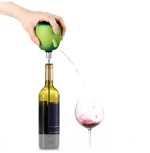 TOKUYI TO-EPD Apple Design Wine Cider Electric Decanter Pump