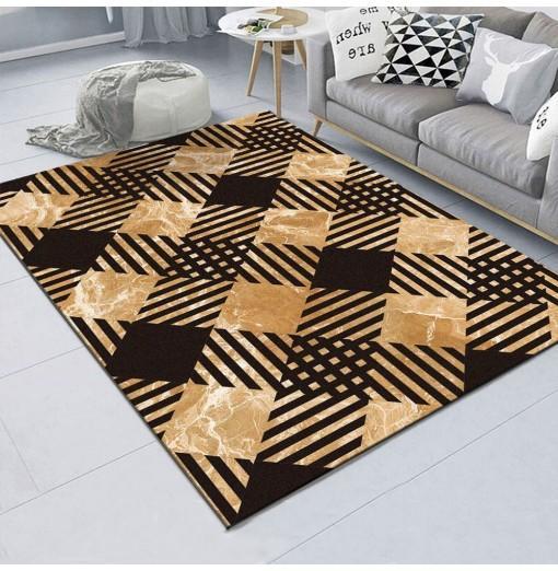 Anti - Old Diamond Bedroom Bedside Blanket Super Soft Carpet Machine Washable