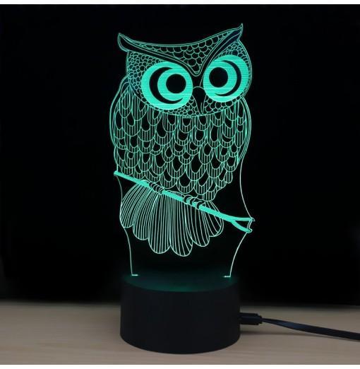 M.Sparkling TD182 Creative Animal 3D LED Lamp