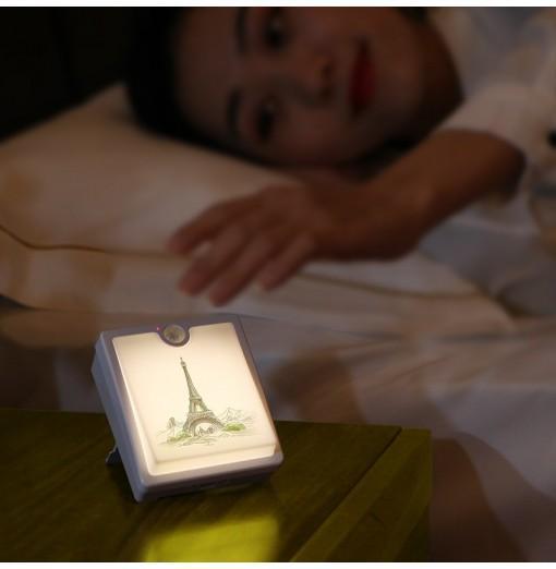 DS - 20 - 6b Rechargeable Night Light Smart Human Sensor Lamp