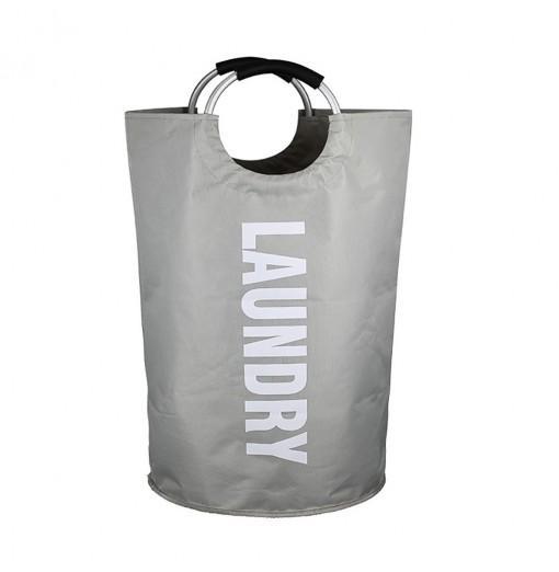 Large Laundry Basket Collapsible Fabric Hamper Foldable Washing Bin