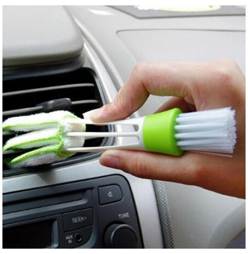 Double-headed Vehicle Blinds Cleaning Brush