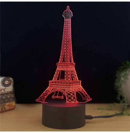 M.Sparkling TD010 Creative Building 3D LED Lamp