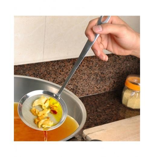 Stainless Steel Fine Filter Oil Scoop Hot Pot Soup Colander