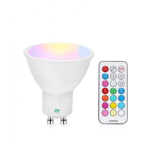 YWXLight 5W GU10 RGB Spotlight Smart Lamp Lighting