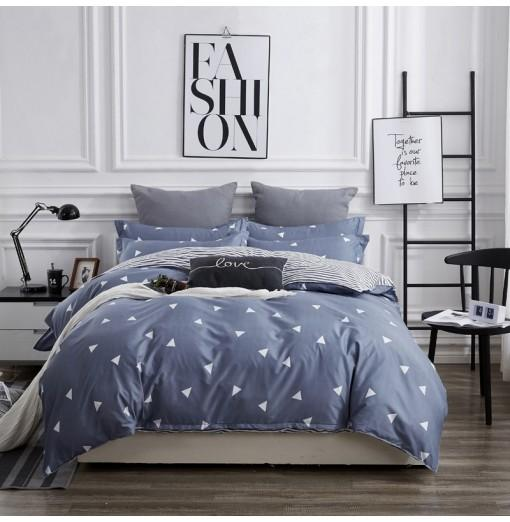 OMONNES Four Sets of Bed Fresh and Simple Sheets Quilt Simple