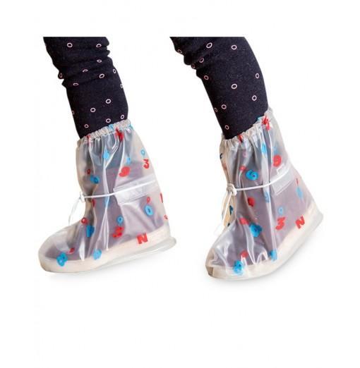 Waterproof Shoe Covers Digital Model for Kids
