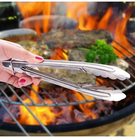 Stainless Steel Dinnerware Creative Barbecue Clip for BBQ