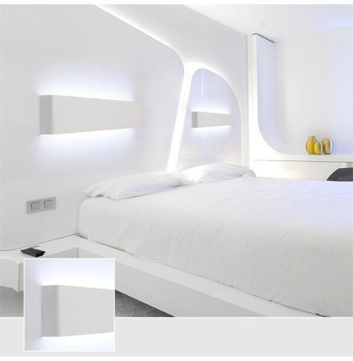 55cm White LED Modern Wall Lamp Aluminum Mirror Light Living Room Bathroom Hallway Stairs bedside Sconce