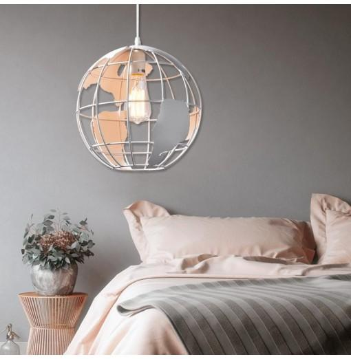 Modern Simple Creative Pendant lamp Globe Shape for Office Room Living Dining Room Bedrooms