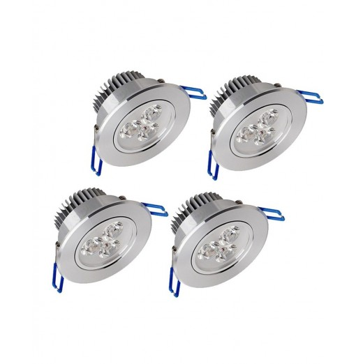 Zdm 4PCS 32W 400-450LM Low Voltage Led Ceiling Lamp Warm White/Cool White/Natural White Ac12v/Ac24v