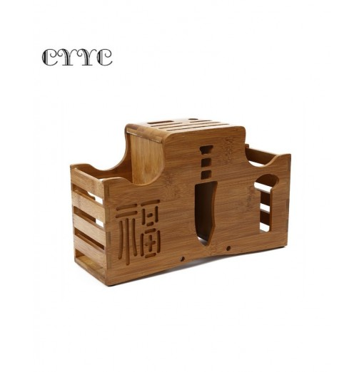 CYYC Multi-purpose Bamboo Cutter Storage Rack Kitchenware
