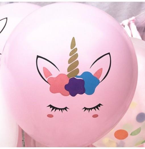 Color Thickened Unicorn Latex Balloon
