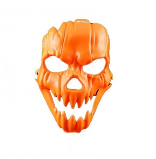 Horror Pumpkin Party Bar Nightclub Scared Plastic Mask