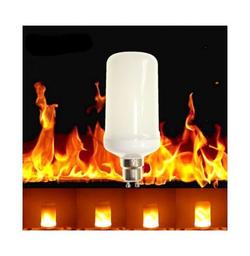 Sencart GU10 5W LED Burning Light Flicker Flame Lamp Bulb Fire Effect Decorative DE