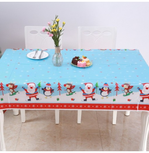 Christmas Tablecloth Kitchen Dining Table Decorations