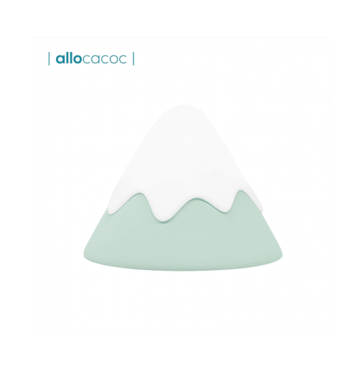 Allocacoc Silicone Bedroom Snow Mountain Lamp Night Atmosphere Light