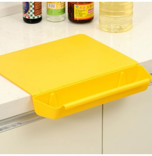 Creative Detachable Non-slip Wear-resistant Cutting Board with Vegetable Trough