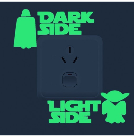 Creativity Luminous Light Switch Wall Sticker