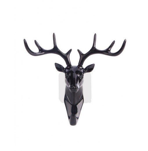 Classic Deer head modeling wall decoration wall hanging coat hook key hanger
