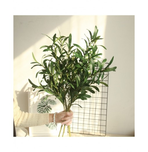 Vivid Artificial Olive Leaves Home Wedding Party Decorations