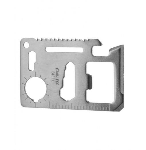 Multifunctional Stainless Steel Card Knife Opener