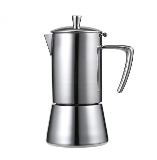 Stainless Steel Mocha Espresso Latte Percolator Coffee Maker Pot