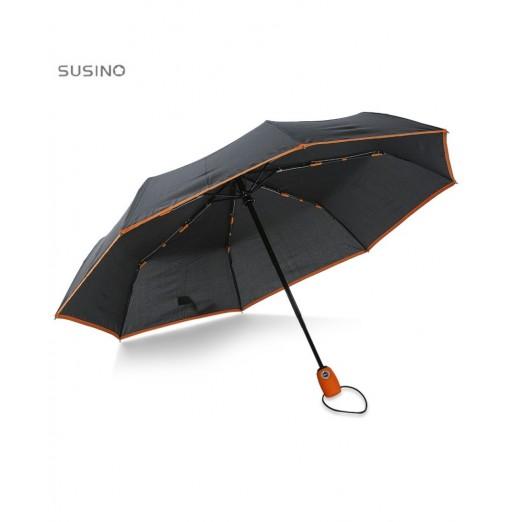 SUSINO Fully Automatic 3 Folding Windproof 8Ribs Umbrella