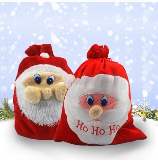 Creative Christmas Decorations Supplies Big Candy Bag 1PC