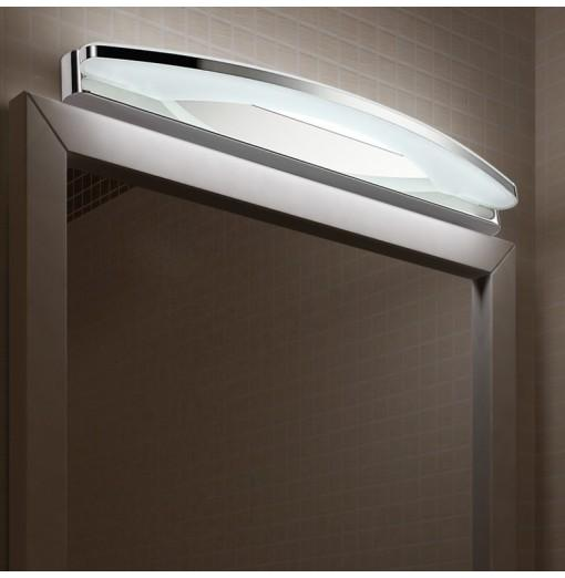 Everflower Max 15W Stainless Steel And Acrylic Modern Fashion Led Wall Sconces Mirror Front Light Model 5950