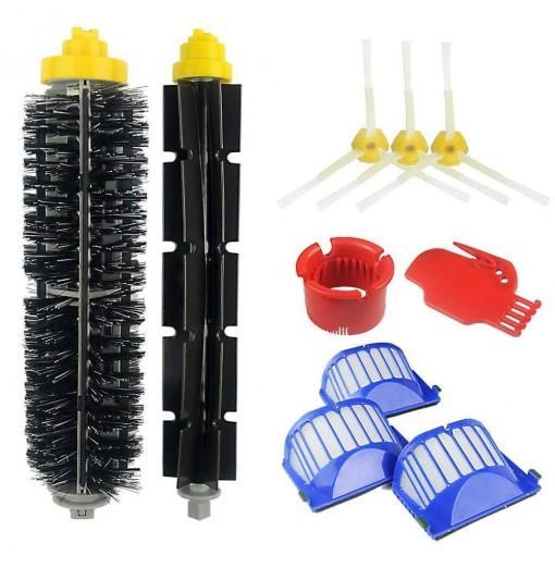 10PCS 600 610 620 650 Vacuum Cleaner Filter Brush Accessories for iRobot Roomba