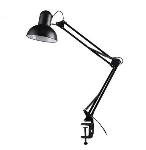 LED Desk Lamp E27 Long Swing Arm Folding Reading Light Exclude Bulb