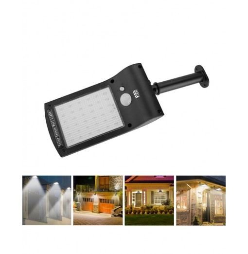 YWXLight Solar energy Outdoor Human Body Induction Lamp LED Street Lamp