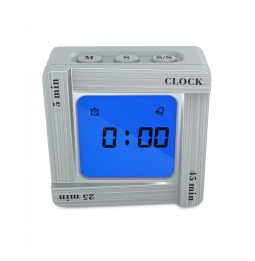 Scientific Time Management Tomato Timing Reminder Flip Four Square Clock