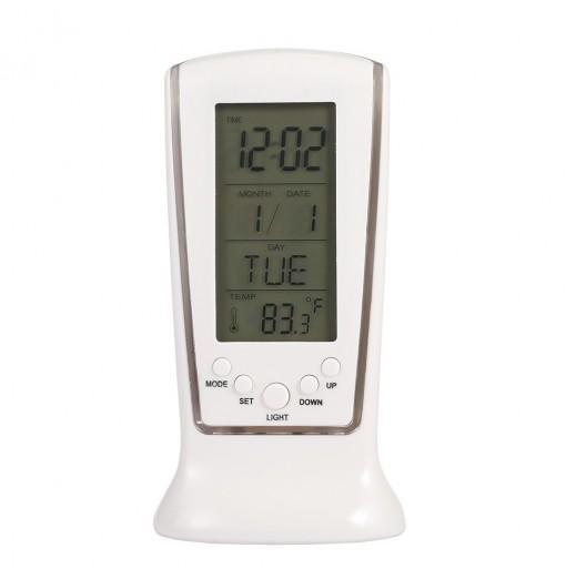LED Digital Calendar Temperature Alarm Clock