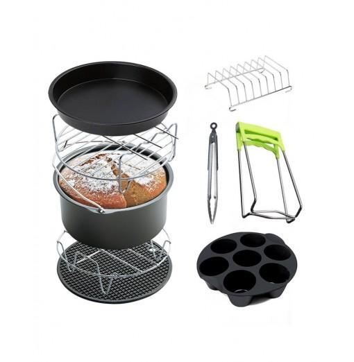 9pcs / Set Air Fryer Accessories Baking Cooking Tool