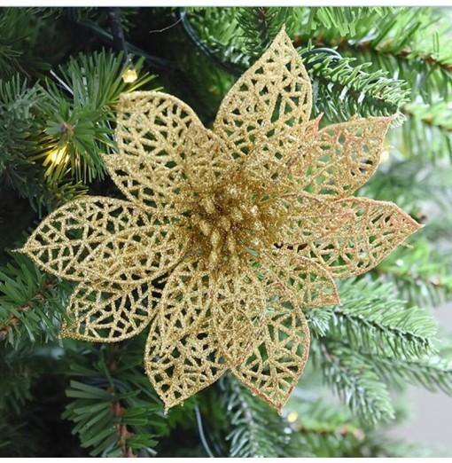 WS Wedding Decoration Artificial Simulation Pierced Fake Flowers