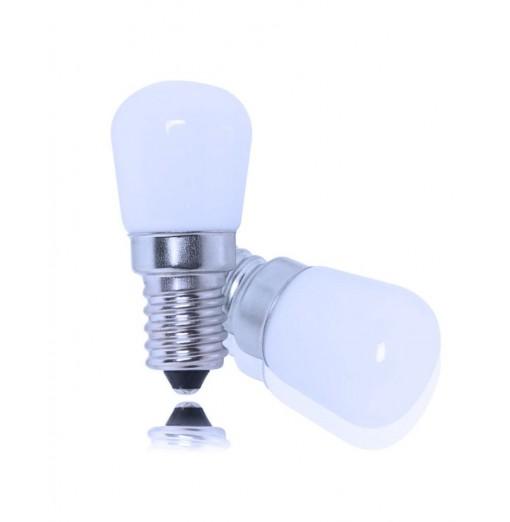 JIAWEN 2PCS 1.5W E14 Refrigerator LED Light Bulb for Fridge Freezer Crystal Chandelier Home Lighting