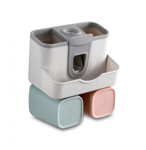 Wall-mounted Automatic Toothpaste Squeezer Set