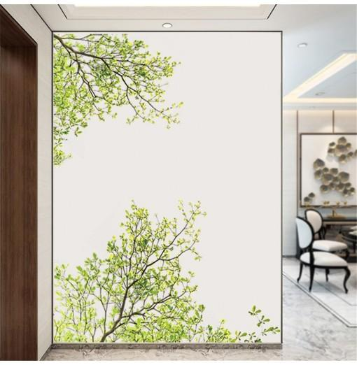 Green Tree Branch Wall Sticker Removable Home Decorations Sticker