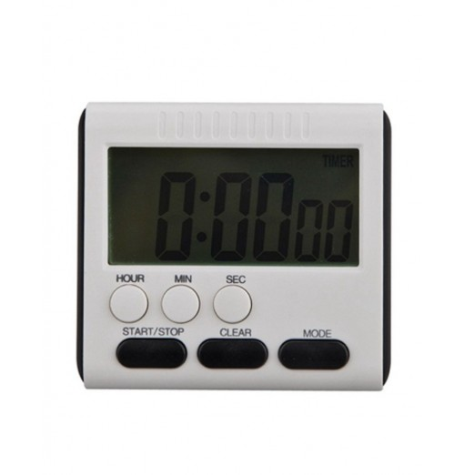 Large LCD Magnetic Digital Timers Kitchen Cooking Timer Count Up Down Alarm Clock 24 Hours Time Reminder