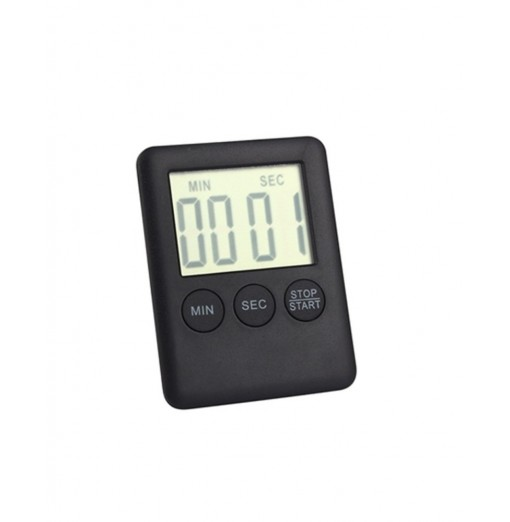 Mini Electronic Large LCD Digital Kitchen Timer Clock Countdown Count Time