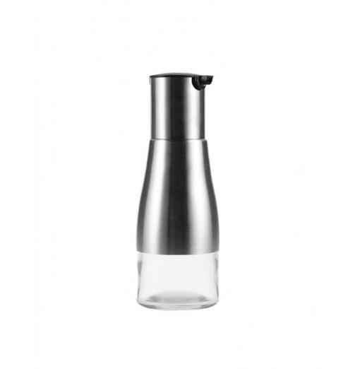 Stainless Steel Glass Seasoning Bottle for Soy Sauce Oil Vinegar