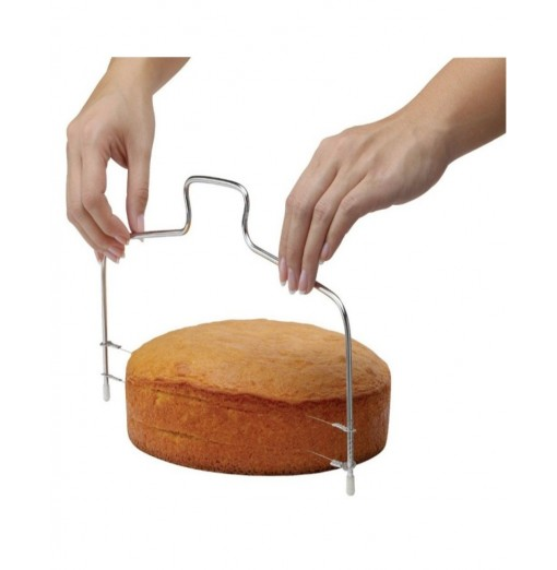 New Stainless Steel Cake Adjustable Single Row Bread Cutter Kitchen Baking Tools