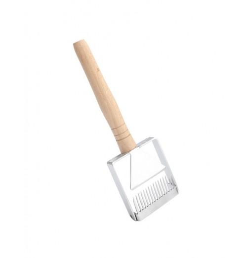 Honey Fork Scraper Shovel Beekeeping Tool with Wooden Handle