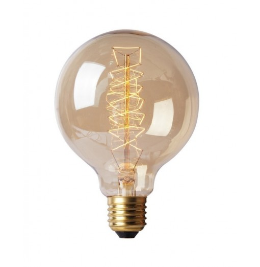 E27 40W Warm White 2700K Wire Bar Bubble Dragon Edison Retro Decorative Lamp AC220 - 240V