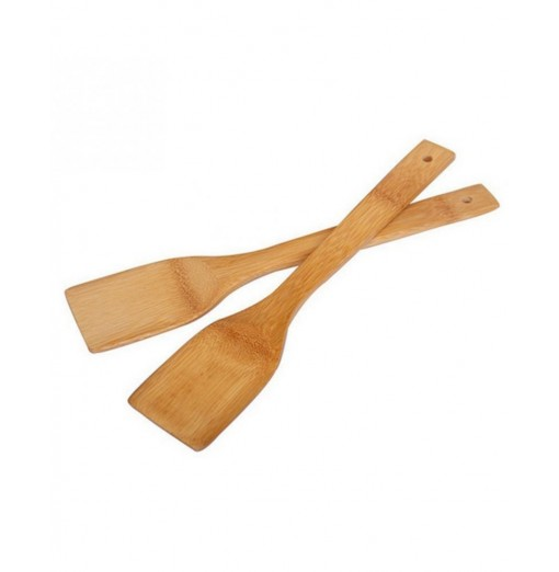 Natural Health Bamboo Wood Kitchen Slotted Spatula Spoon Mixing Holder Cooking Utensils Dinner Food Wok Shovels Supplies