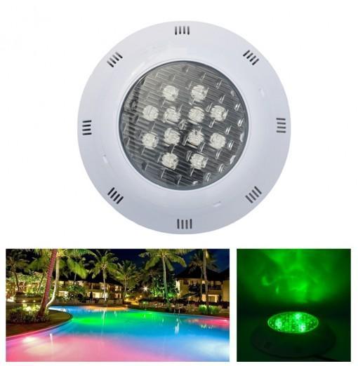 JIAWEN 12W IP68 Waterproof RGB LED Underwater Swimming Pool Light DC 12 - 24V