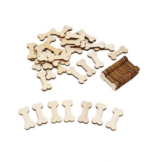 141003 Wood Bone Modeling Handmade DIY Accessories Creative Photo Album Handmade Piece (50 Installed)
