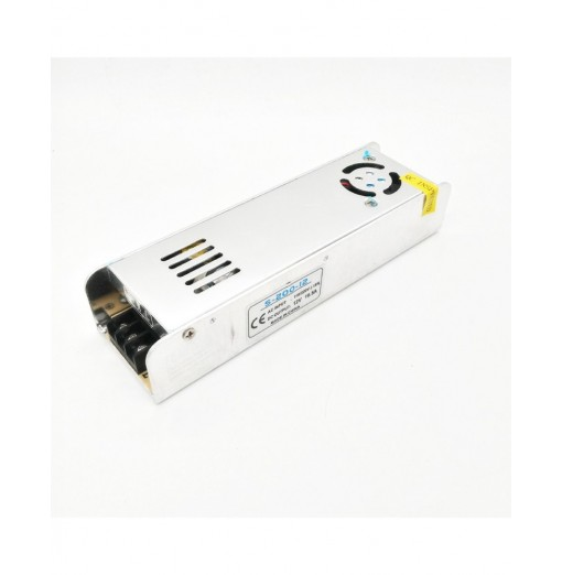 ZDM High Quality 12V 200W Constant Voltage Fan Cooling AC/DC Switching Power Supply Converter(AC110 / 220V)